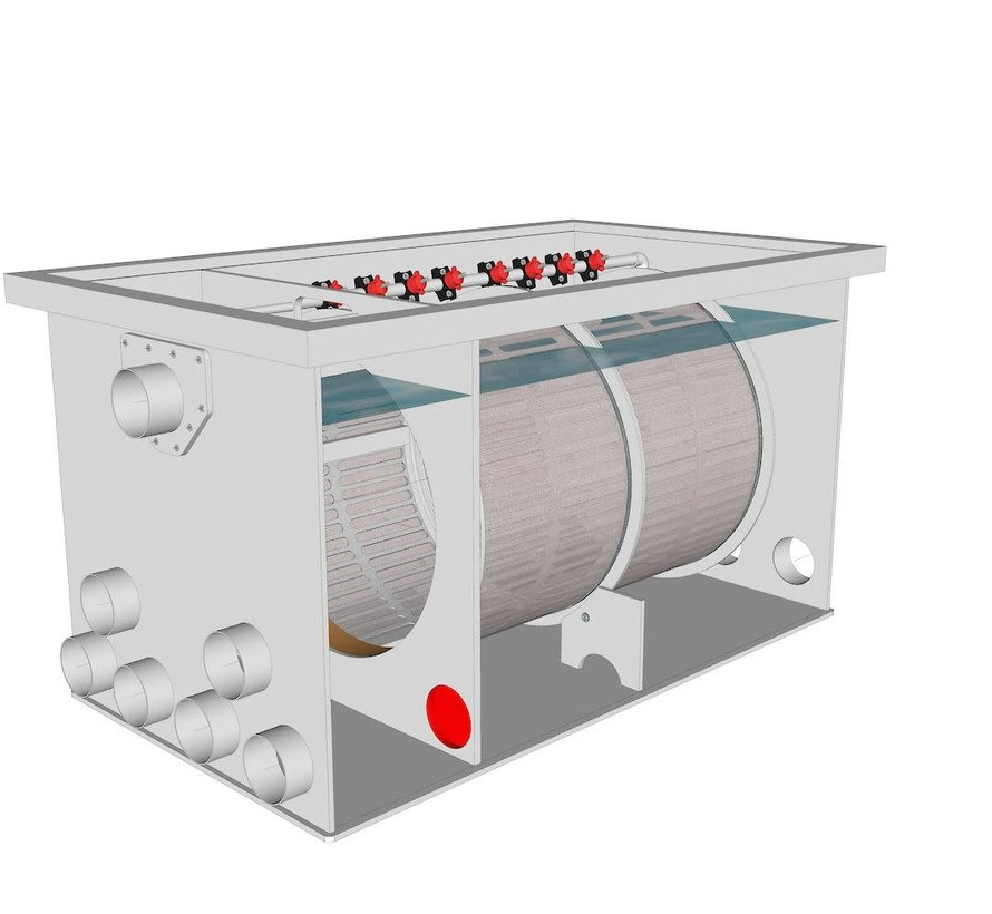 AquaKing Red Label Drum Filter 75/100 XL Lease