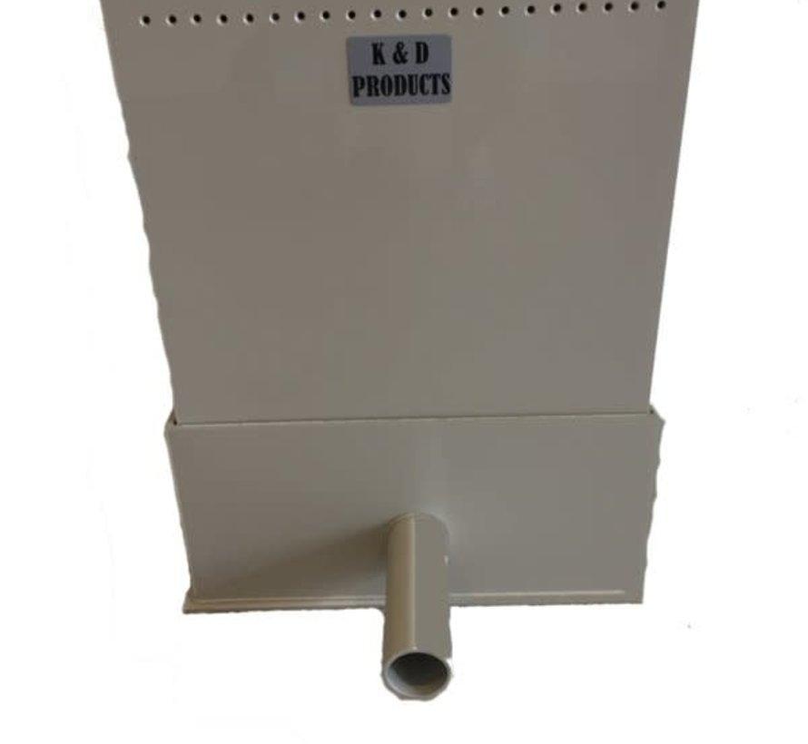 Trickle Filter K&D met ronde uitloop 63 mm