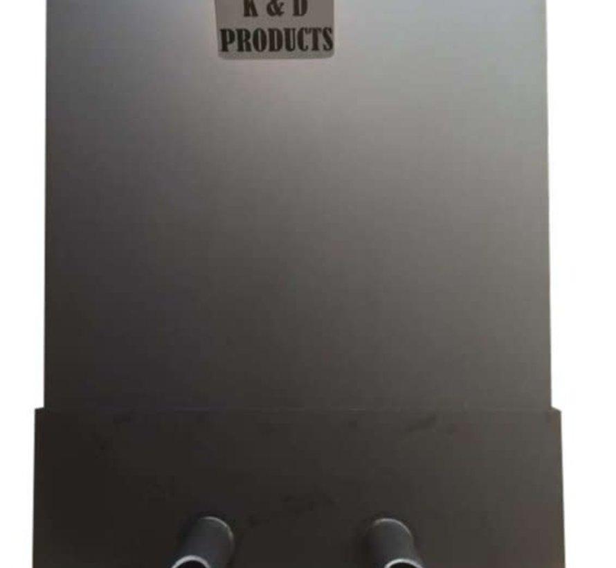 Trickle filter K&D met 2x ronde uitloop 63 mm