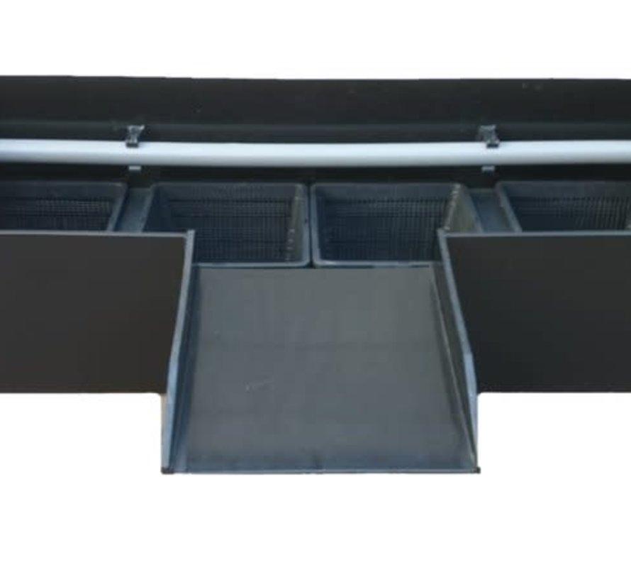 Plantenfilter K&D 100cm met sproeibuis