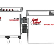 Red Label AquaKing Red Label Moving Bed Filter 30/35 Lease