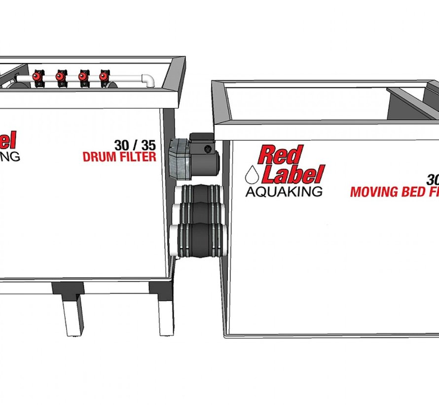 AquaKing Red Label Moving Bed Filter 30/35 Lease