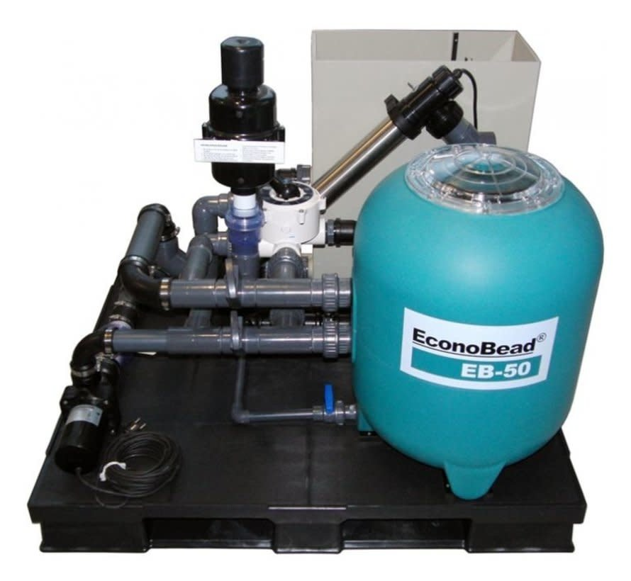 Aquaforte Econobead EB-50 Compleet Filtersysteem