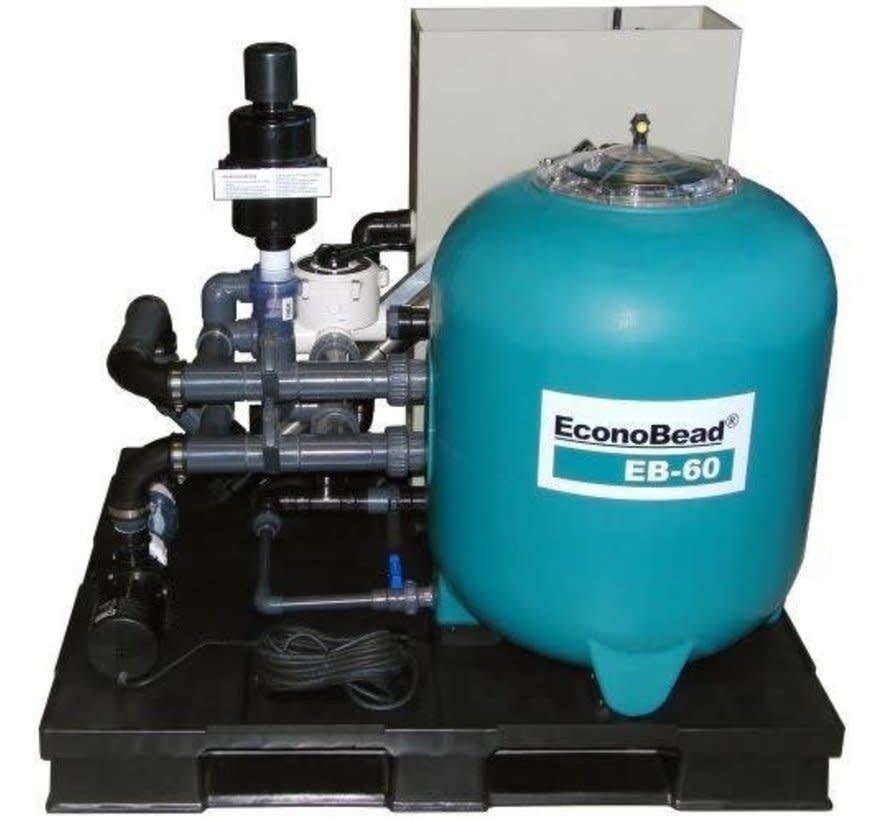 Aquaforte Econobead EB-60 Compleet Filtersysteem
