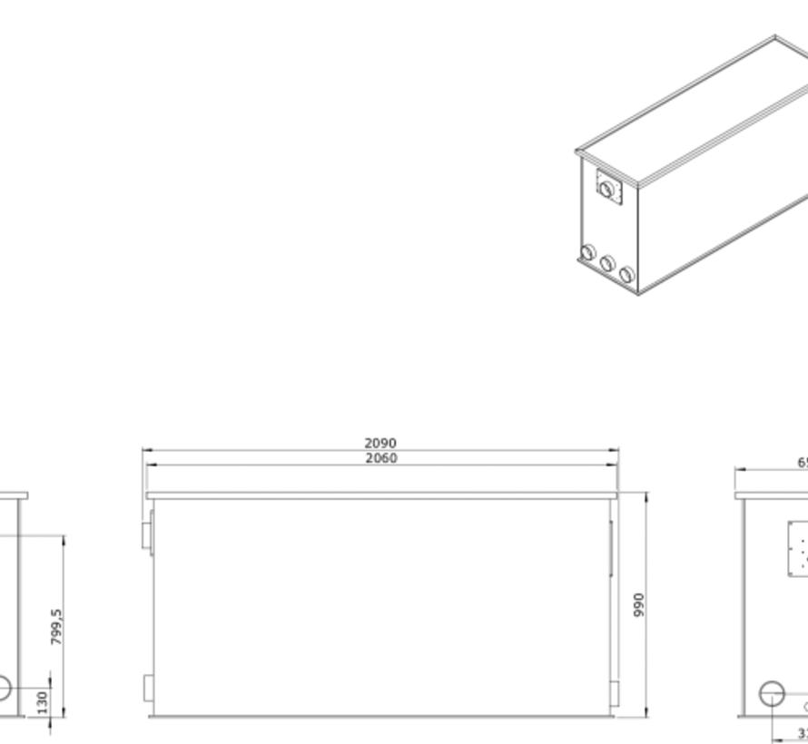 AEM EM-30 Combi Totaalfilter lease