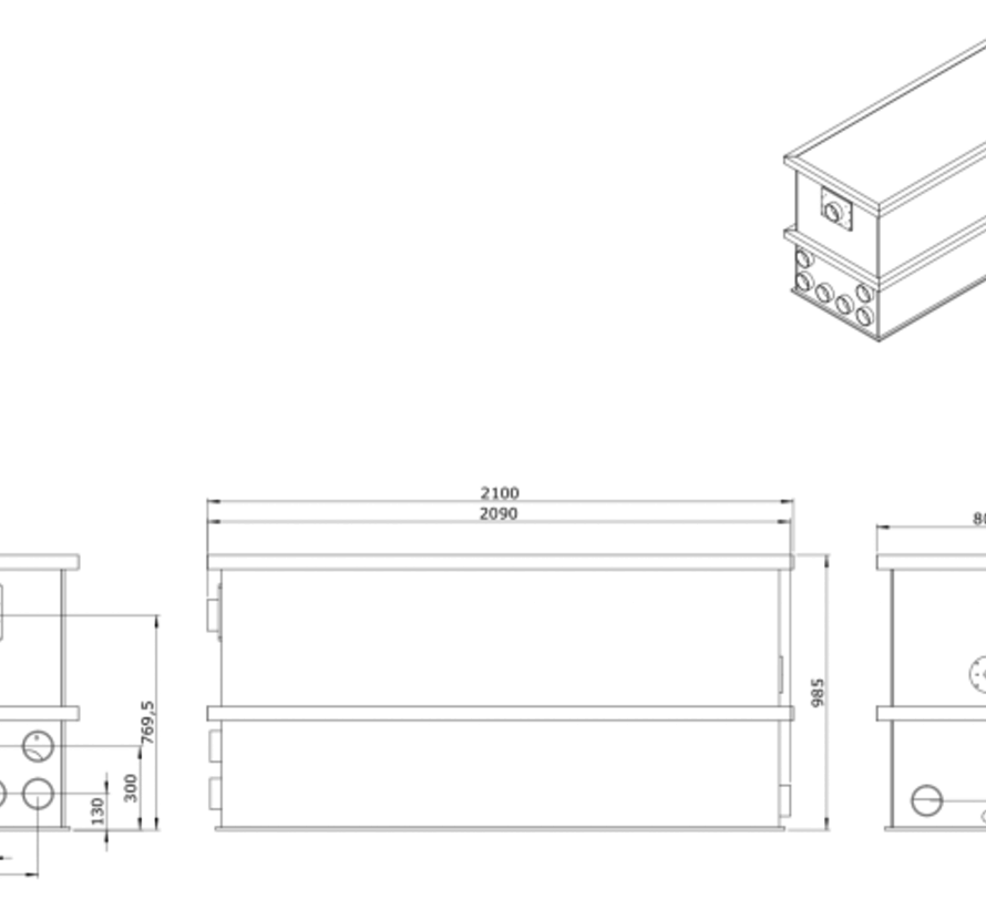 AEM EM-65 Combi Totaalfilter lease