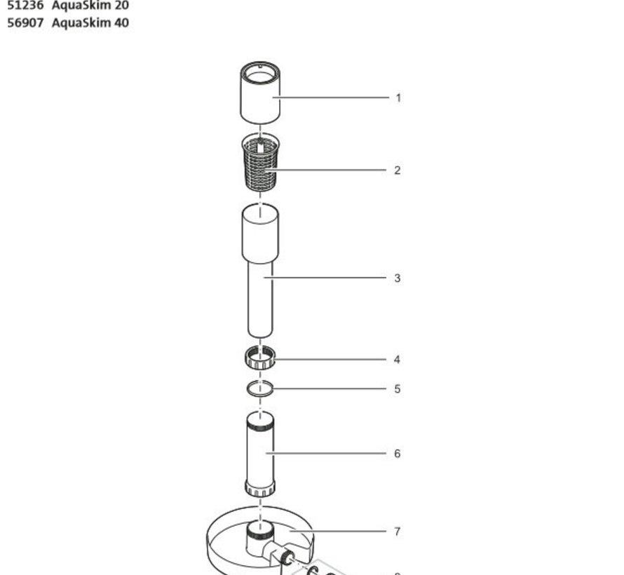 Filterkorf AquaSkim 40 (nr 2)