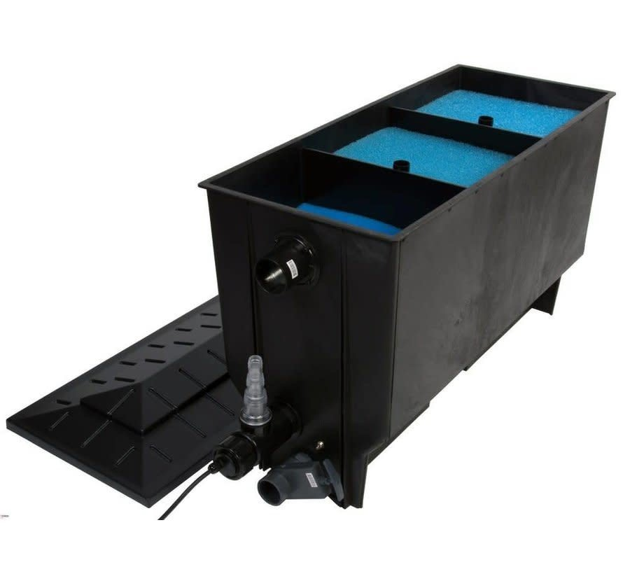 Xclear 3-kamer filter 220 ltr + UV-C 40W