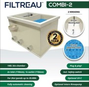 Filtreau Combi-2 incl interne spoelpomp