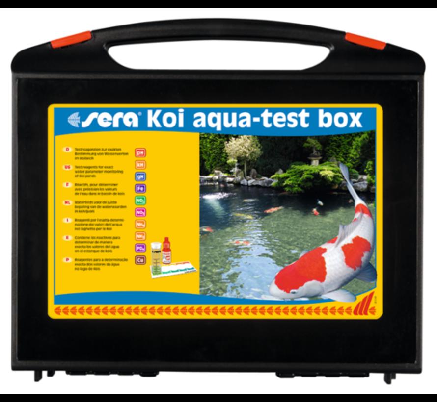 SERA KOI AQUA TEST BOX