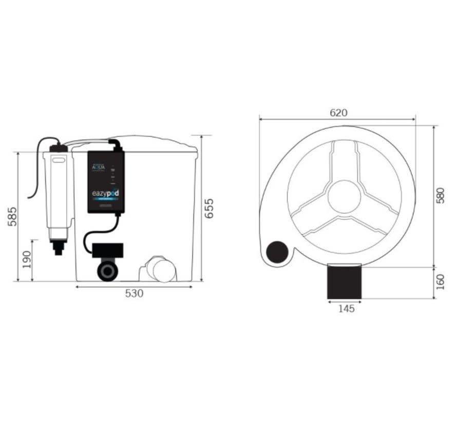 Evolution Aqua Nexus Eazy Pod Automatic inclusief beluchting + UV