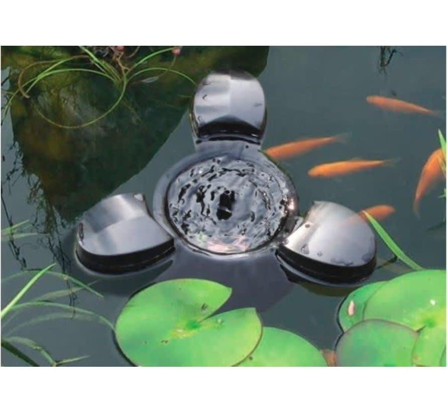 AquaForte drijvende skimmer met pomp 60W