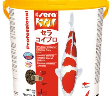 Sera Sera Koi Professional Spirulina-kleurvoeder (7 kg)