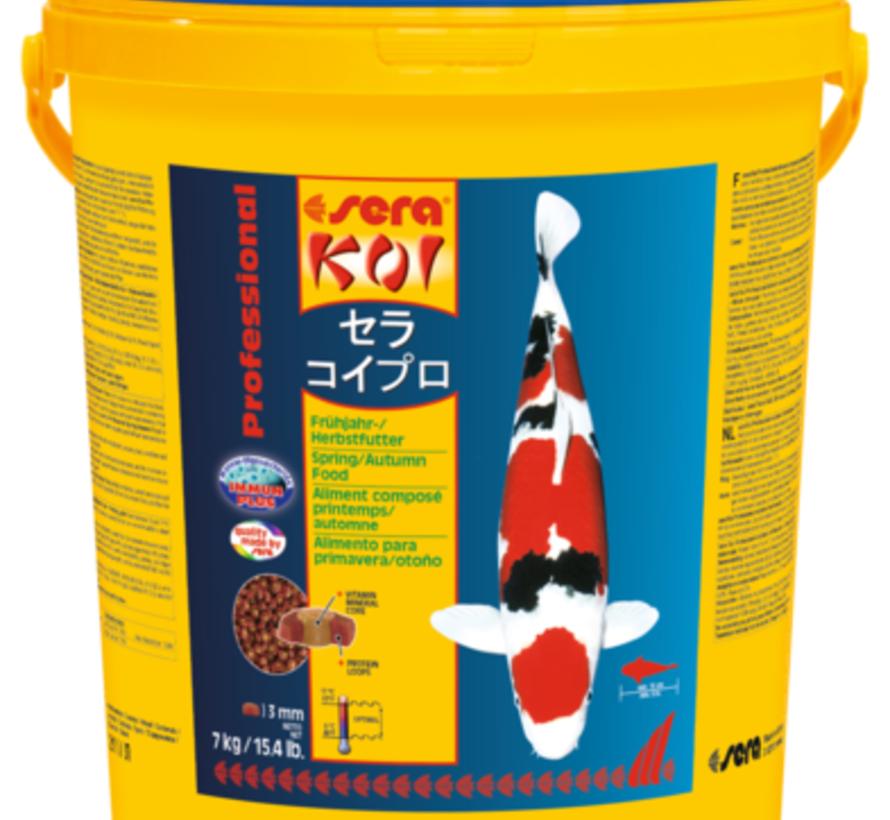 Sera KOI Professional voorjaars-/herfstvoeder (7 kg)