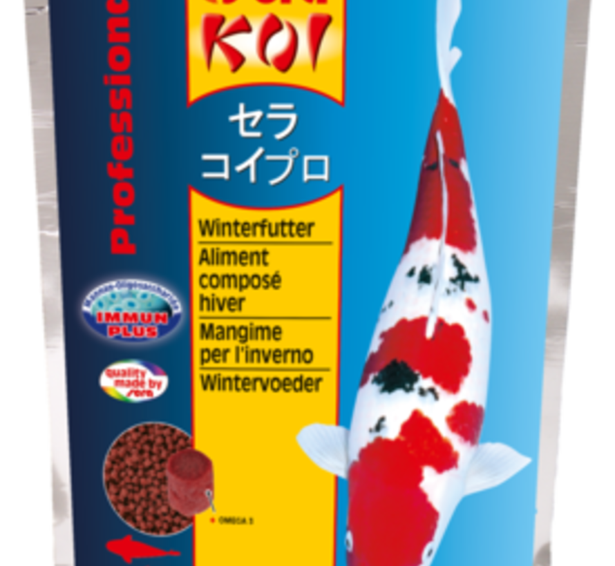 Sera KOI Professional wintervoeder (500gr)