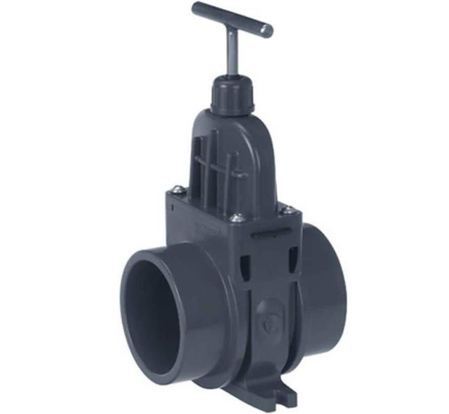 VDL PVC Schuifkraan 125mm (uitwendig)