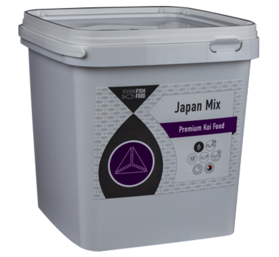 Vivani Japanse Mix 6mm (2 kilo emmer)