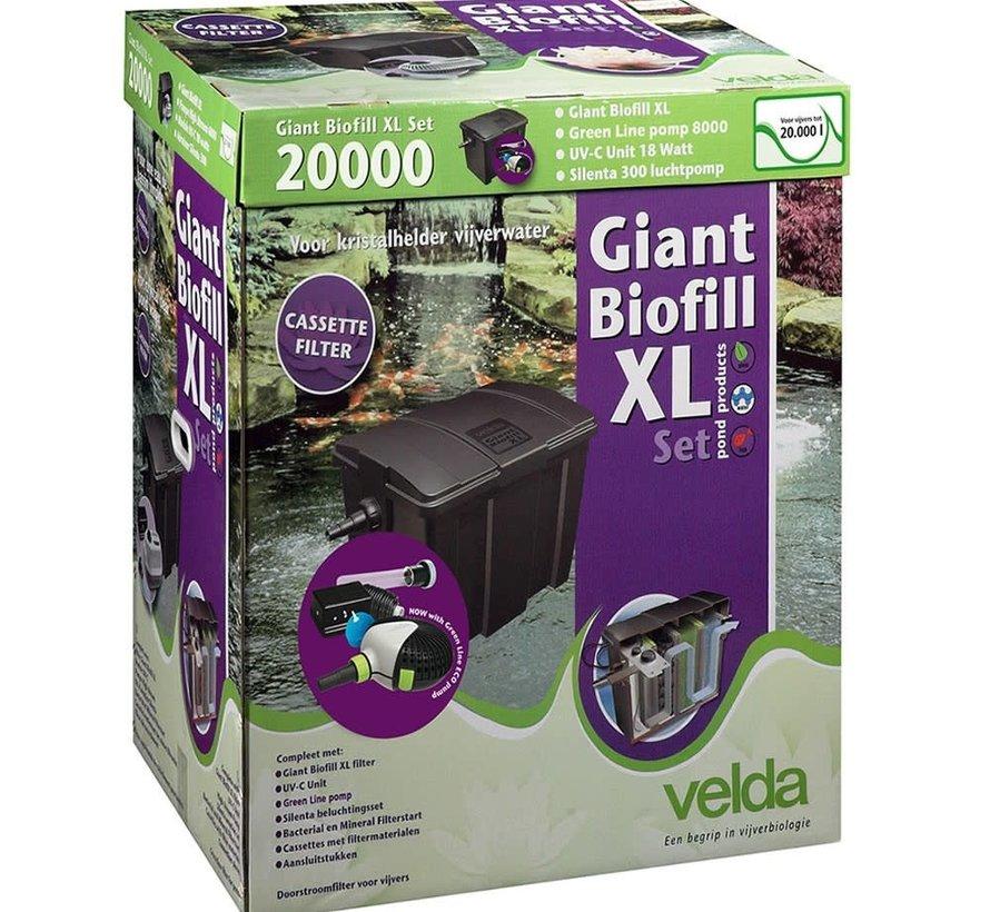 Velda Giant Biofill XL Set 20000