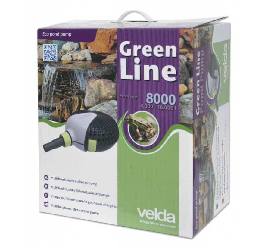 Velda Green Line 8000 vijverpomp