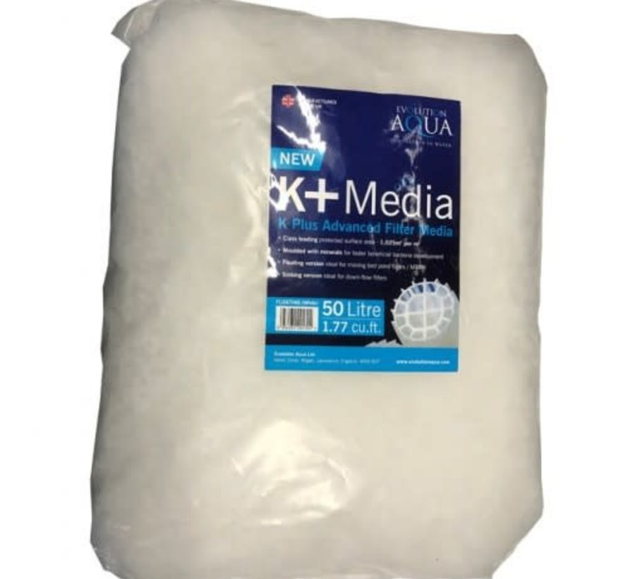 Evolution Aqua K+ (plus) Filter Media 50 ltr