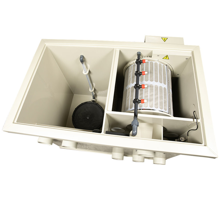 DVS Trommelfilter Entry C25