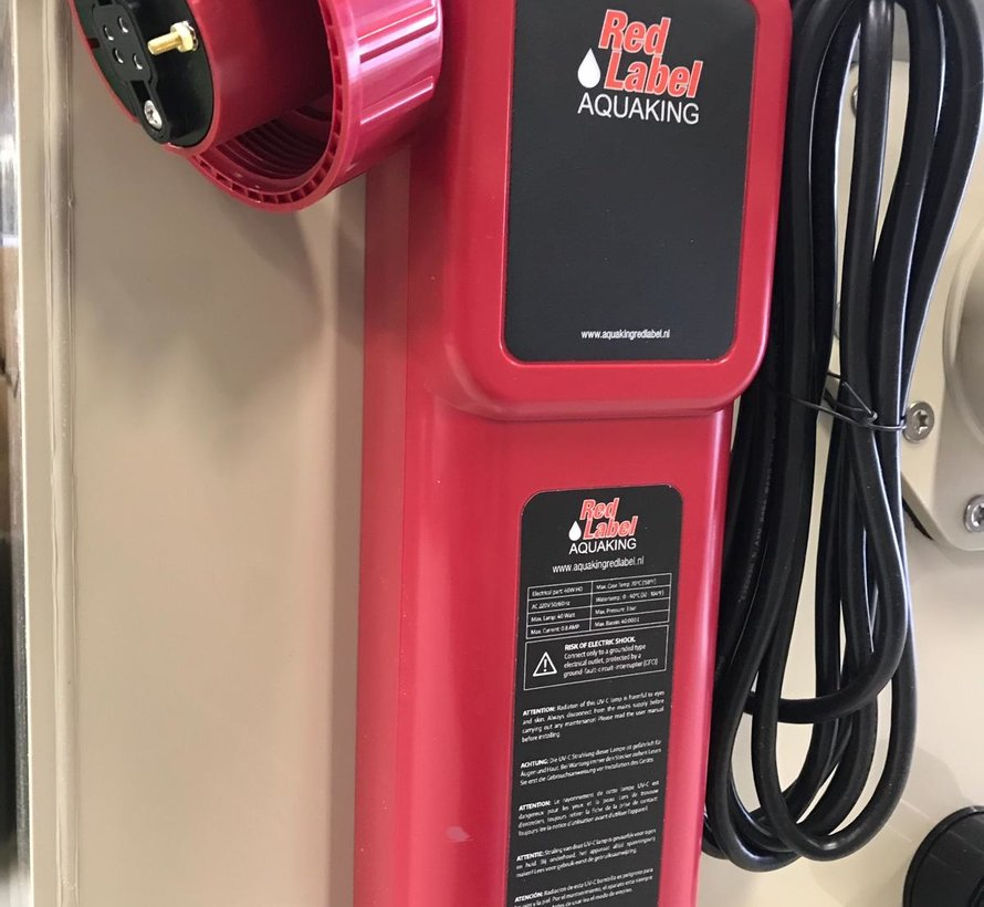 Red Label Ballast 40 watt amalgaam HO (nieuw zonder timer)