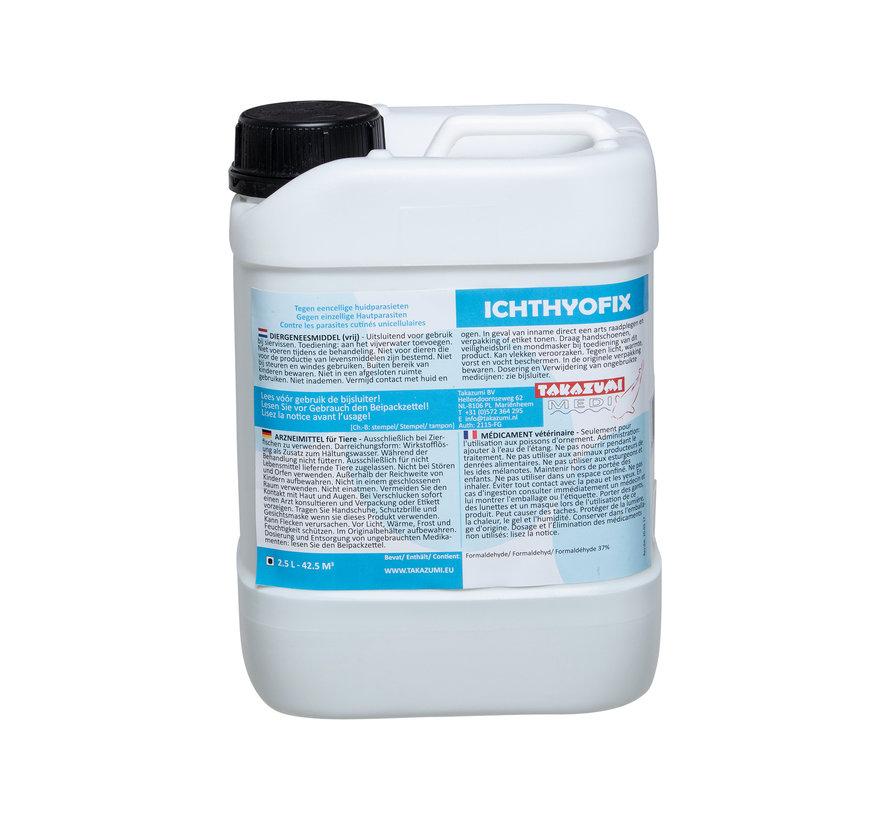 Takazumi Ichthyofix (Formalin) 2,5 L voor 42,5m3