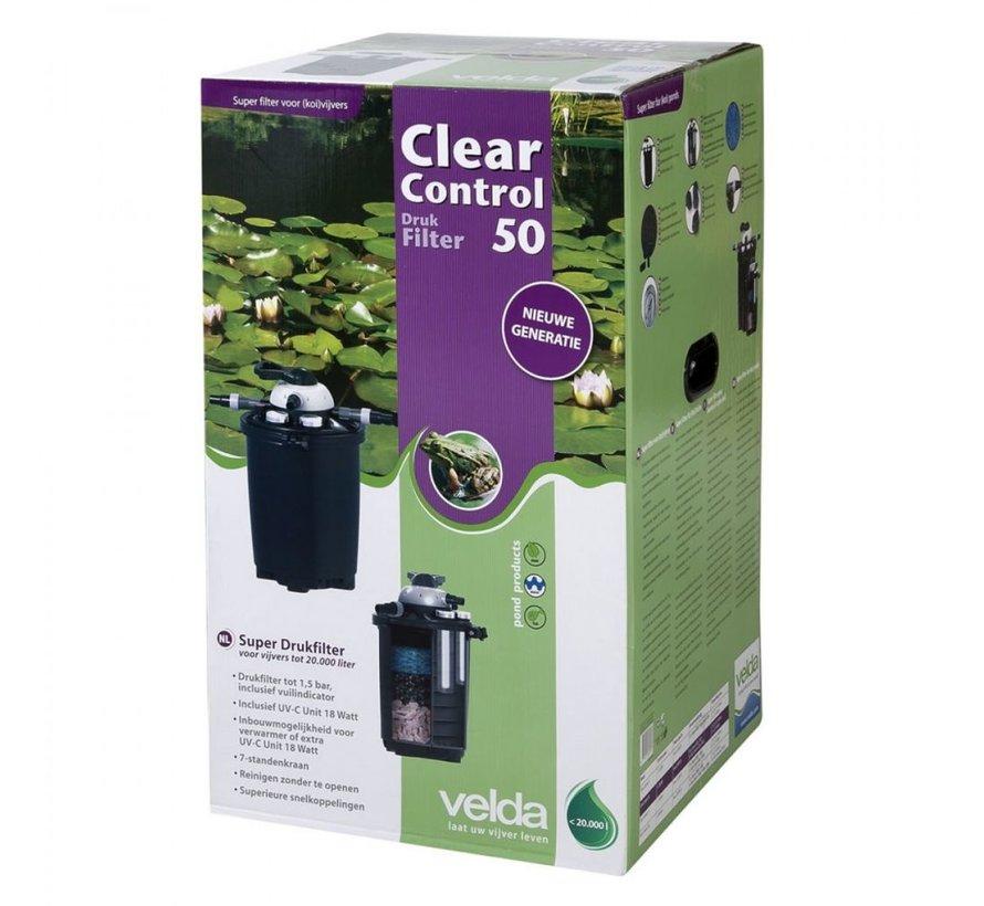 Clear Control 50  + UV-C 18W