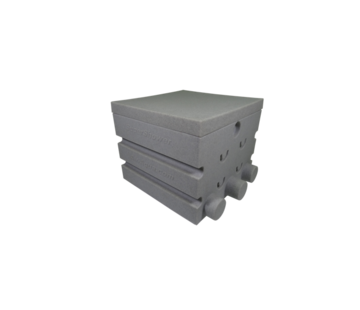 Air-Aqua SuperShower 1-traps incl. 50 ltr SuperBio marmer wit