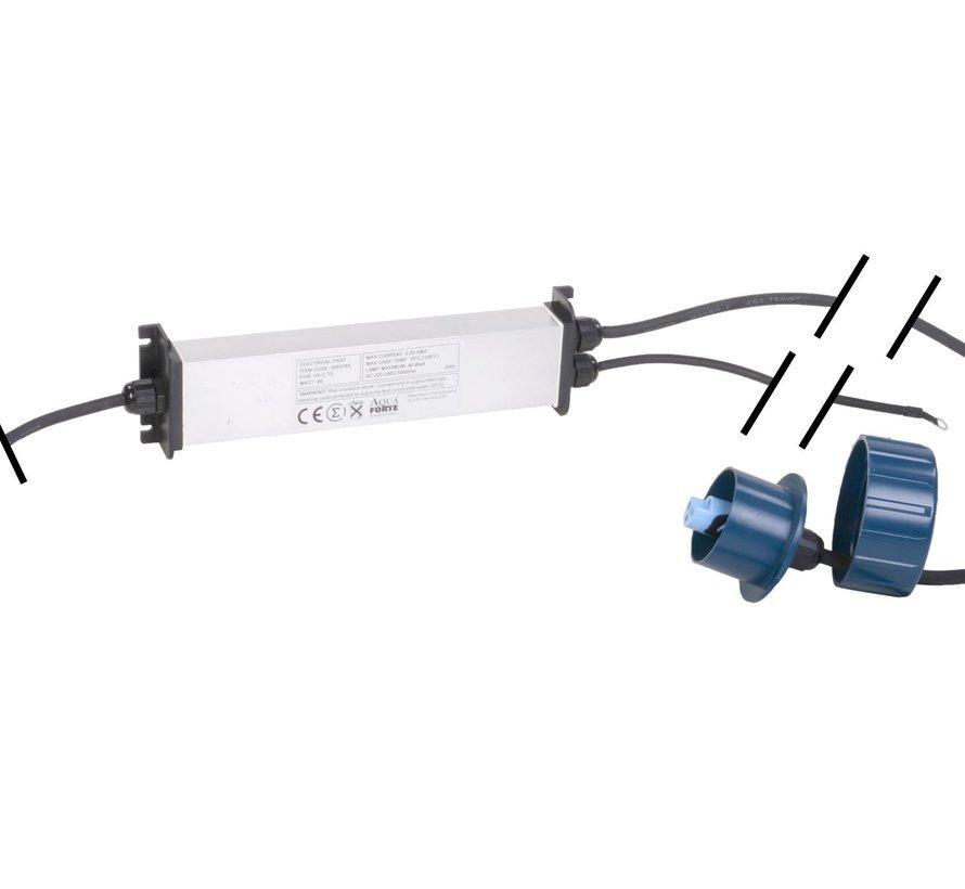 AquaForte elektrisch gedeelte power UV-C 40 watt (oud model)