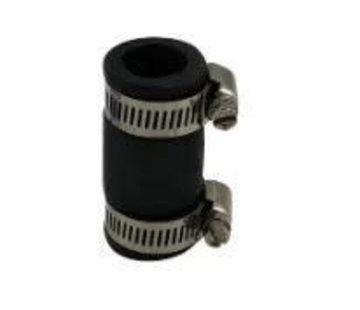 Air-Aqua Flexibele rubber sok 25mm