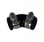 Air-Aqua Flexibele bocht (45°) 20mm