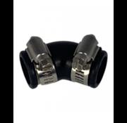 Air-Aqua Flexibele bocht (45°) 25mm