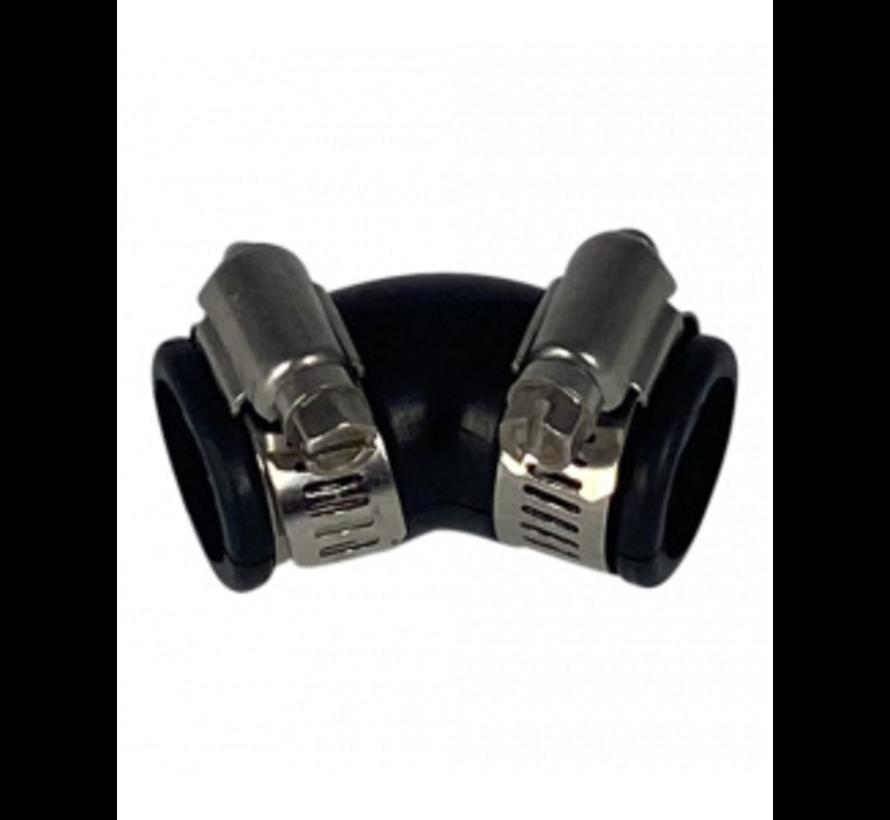 Flexibele bocht (45°) 25mm