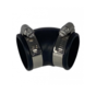 Flexibele bocht (45°) 40mm