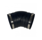 Flexibele bocht (45°) 125mm