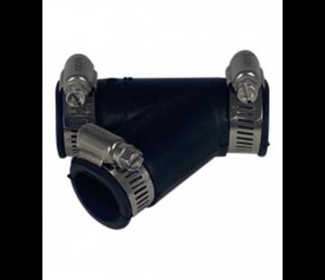 Air-Aqua Flexibele Y-stuk 25mm