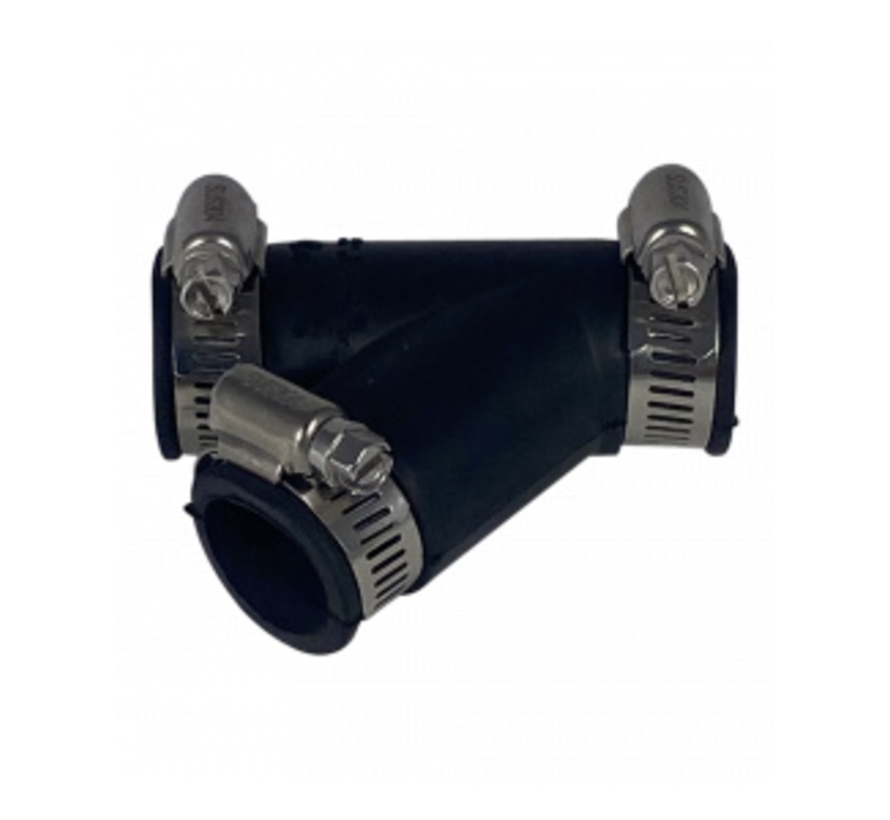 Flexibele Y-stuk 25mm