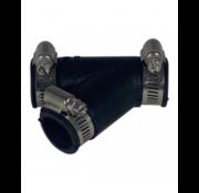 Air-Aqua Flexibel Y-stuk 32mm