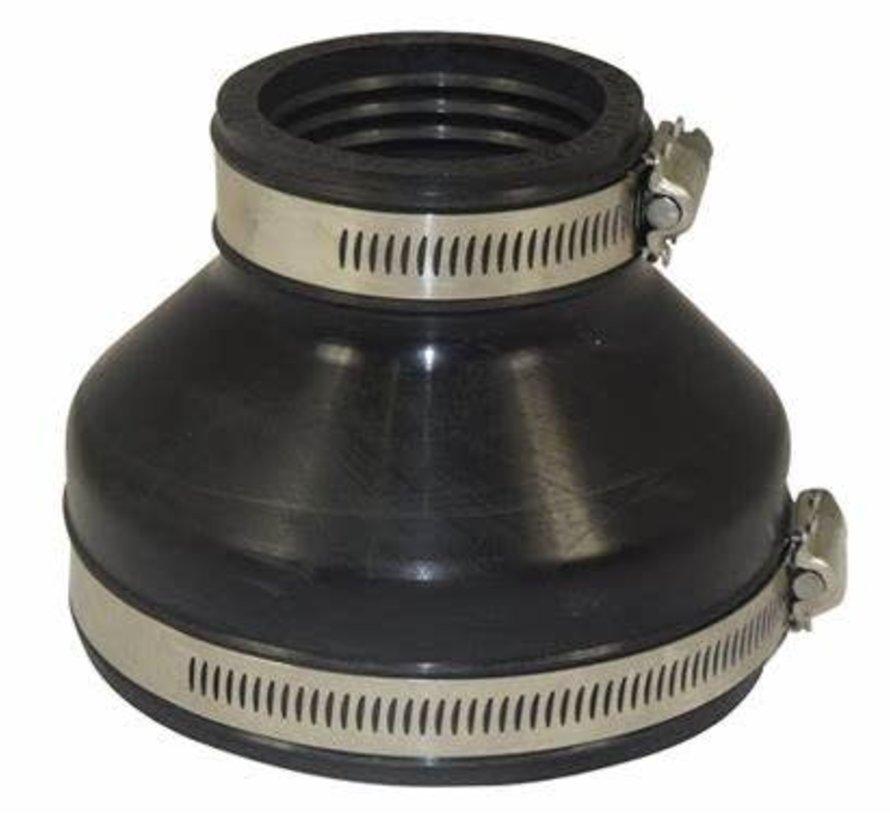 Flexibele EPDM verloopsok 110x63mm