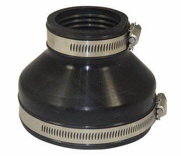 Air-Aqua Flexibele EPDM verloopsok 125x110mm
