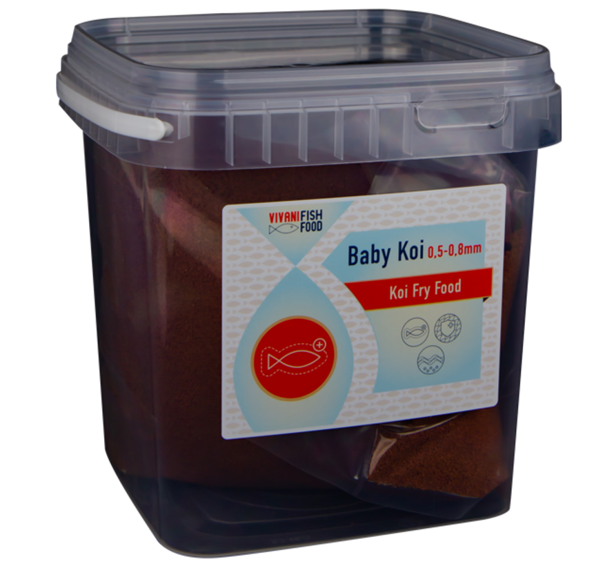 Vivani baby koivoer 0,5 - 0,8mm 1 kilo