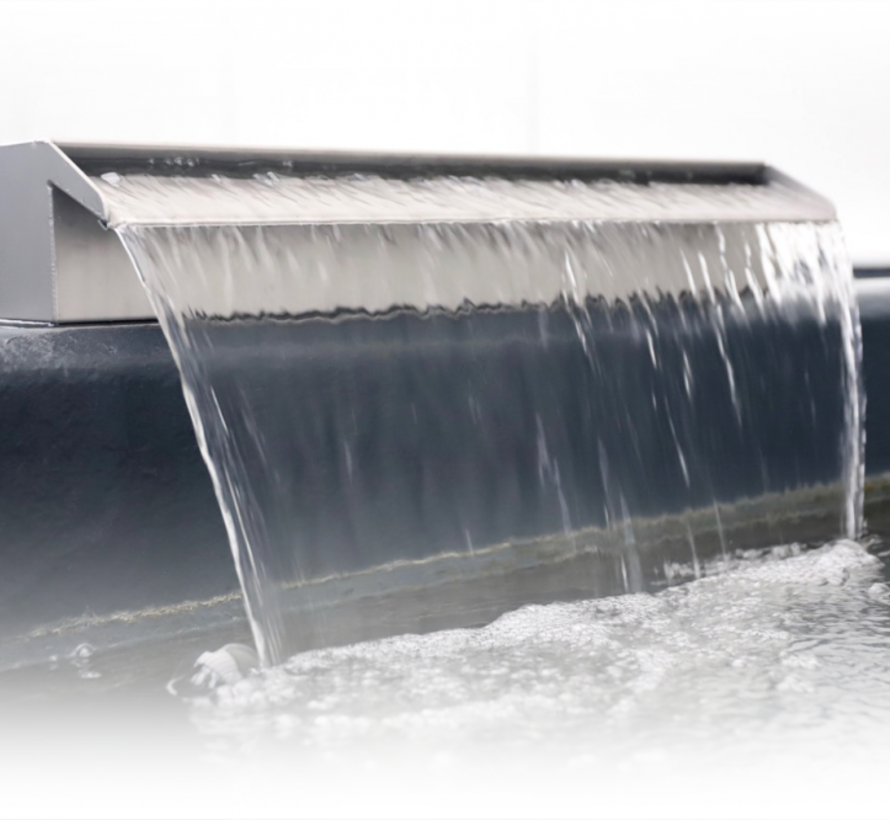 Aquaking RVS waterval 30 cm