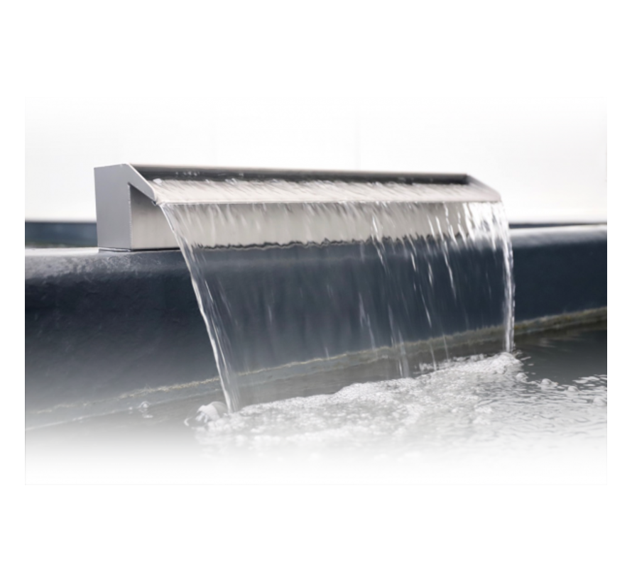 Aquaking RVS waterval 40 cm