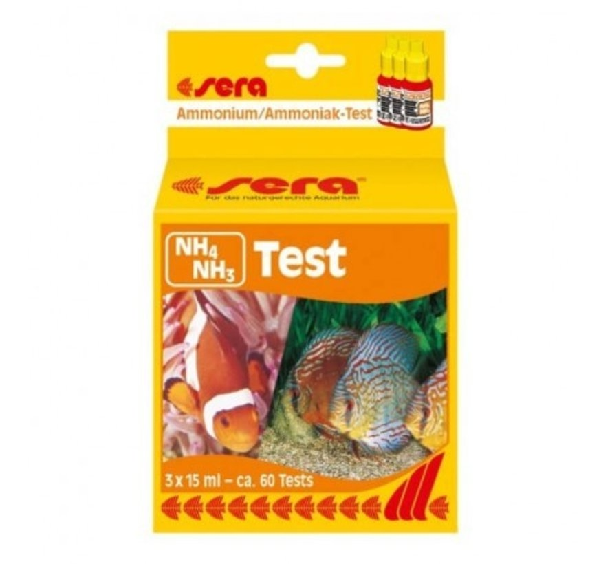 Sera NH4/NH3-test