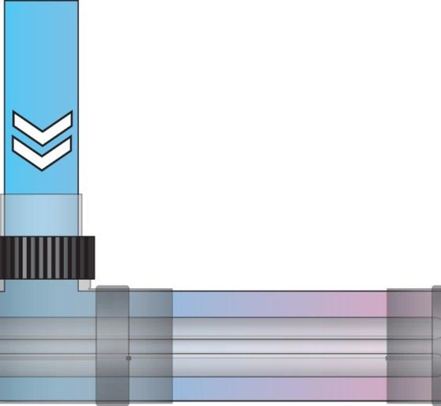 Blue Lagoon Profiheater zwembadverwarmer 3kW (2580 kcal/h)