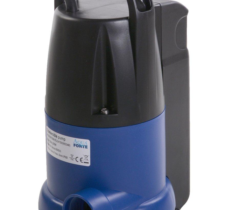 AquaForte dompelpomp met ingebouwde vlotter AF250