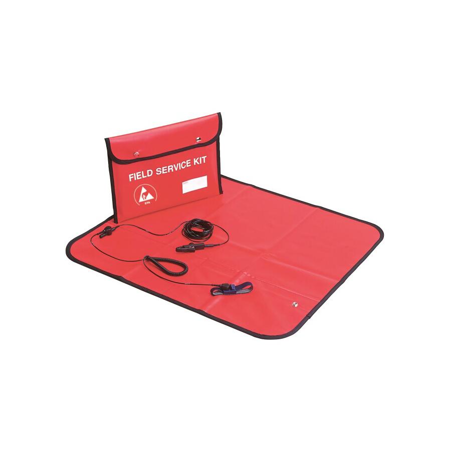 ESD Field Service Kit/Polsband stof/ 3M Aardsnoer