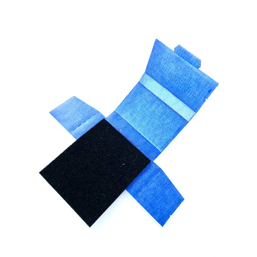 IC-Doos  PU Zacht Dubbel Schuim 100 x 60 x 15 mm