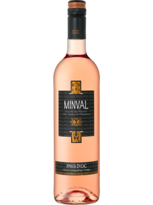 Minval rosé Pays d'Oc 2018